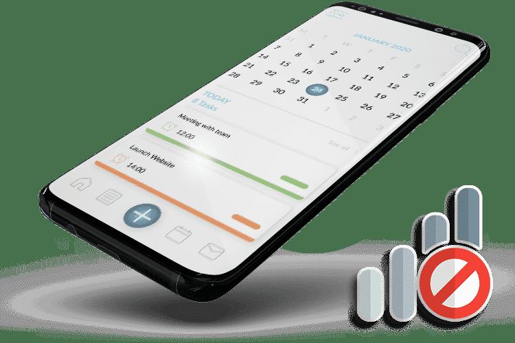 Offline Task Management Software - Offline Mode