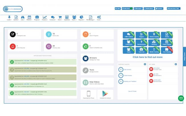 Field Management Software - Eworks Manager - Free Trial