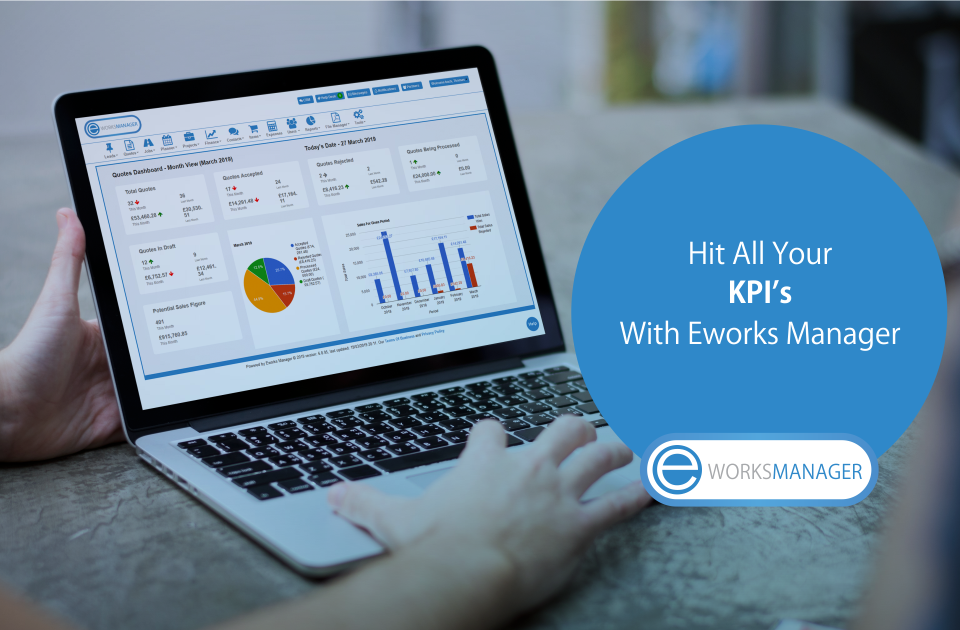 Hit all your KPI's with Eworks Manager