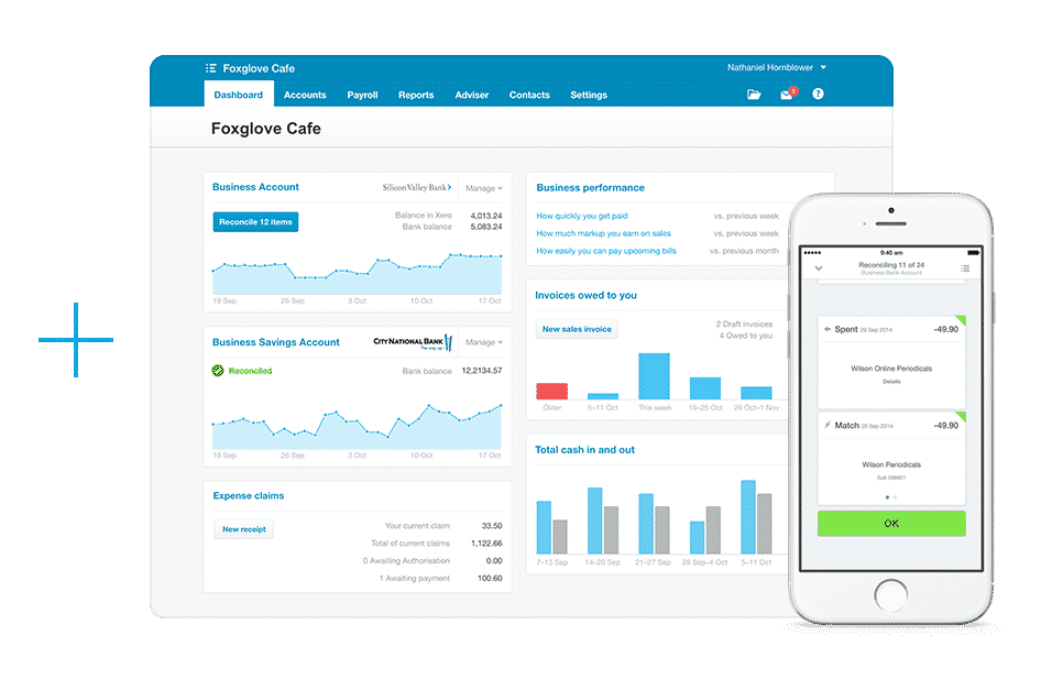 Xero is world-leading online accounting software built for small business.