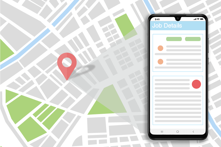 Planning Software - Live location tracking