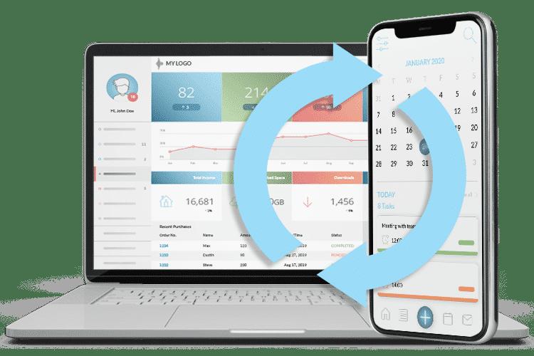 Offline Task Management Software - Mobile App and Admin System Sync