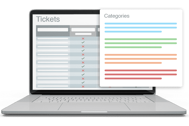 IT Help Desk Solution - Ticket Categories