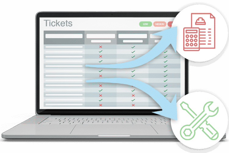 Helpdesk Ticketing System - Tickets to Quotes, Jobs and more