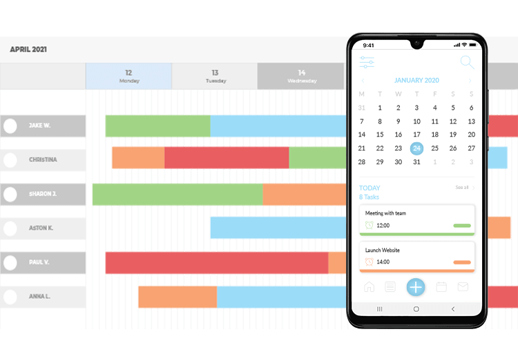 Project Scheduling Software - Time Planner