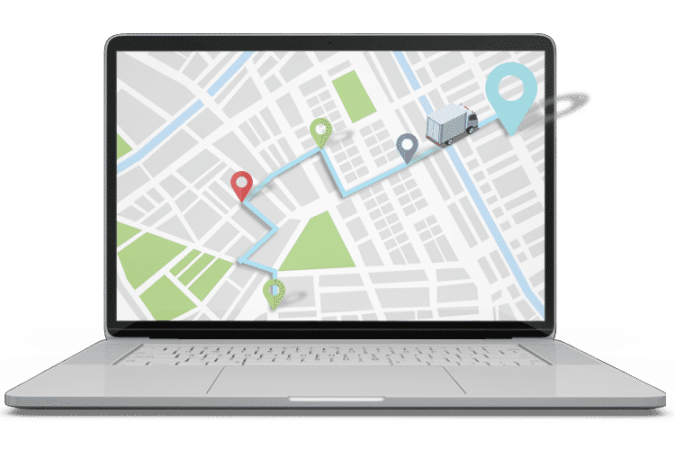 Fleet Management Vehicle Tracking System - Live tracking and journey playback