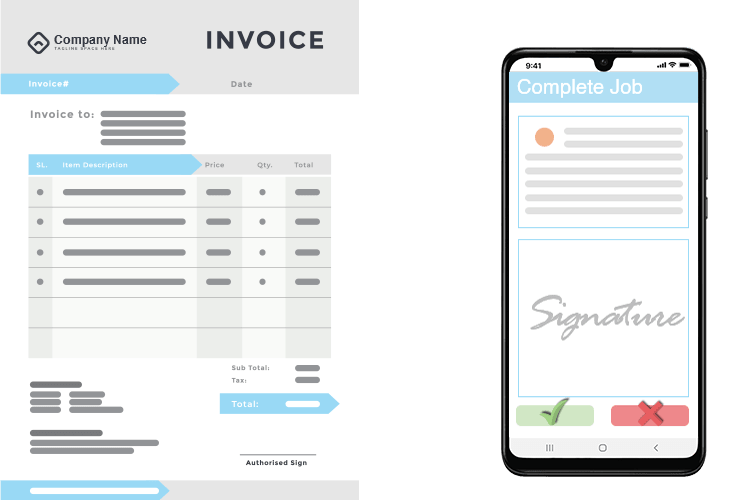 Project Management System - Invoice per Job or as a Project Invoice