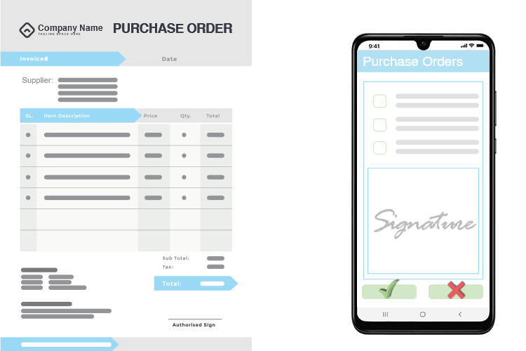 Purchase Order Software - Purchase Approval