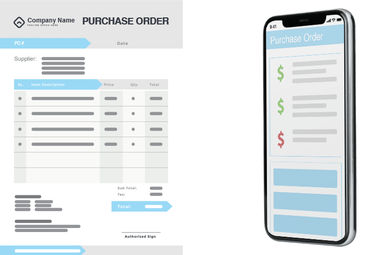 Mobile Inventory - Purchase Order Management